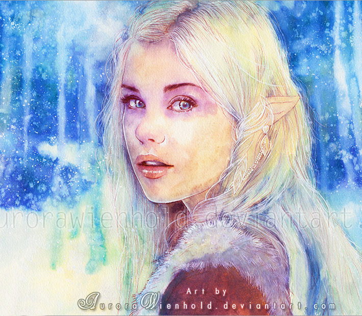 Frozen princess by Aurora Wienhold