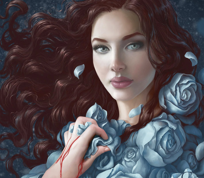 Lyanna Stark digital art by Gloria Pineiro Muniz