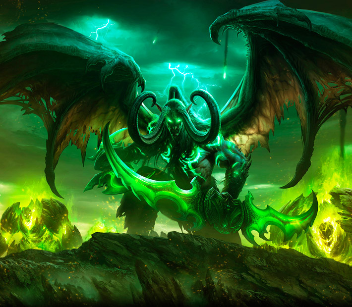 World of Warcraft Legion by Maksilos