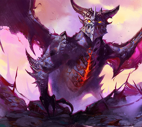 [FanArt] DeathWing the Destroyer from WoW by UnidColor